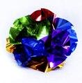 Veja a imagem maior Nua flor mão Bola Flor flor aparecer de mão vazia Close Up Magic Fácil magia prop grande tamanho