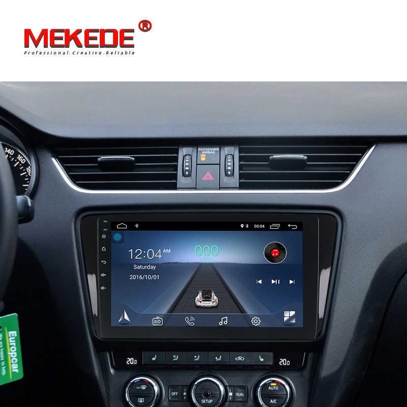 MEKEDE DVD мультимедиа плеер для Skoda Octavia A7 III/3 2014 2din Android 8,1 радио Автоматическая навигация gps сзади Камера