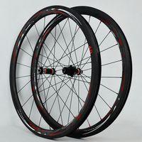 2018 PASAK Carbon Fiber Road Bike Bicycle Full Carbon Wheels C V Brake 40 55 Rim