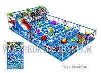 Экспортируется в Австралии мягкий игровой зоны Экологичные пул Детские площадки hz 180123c