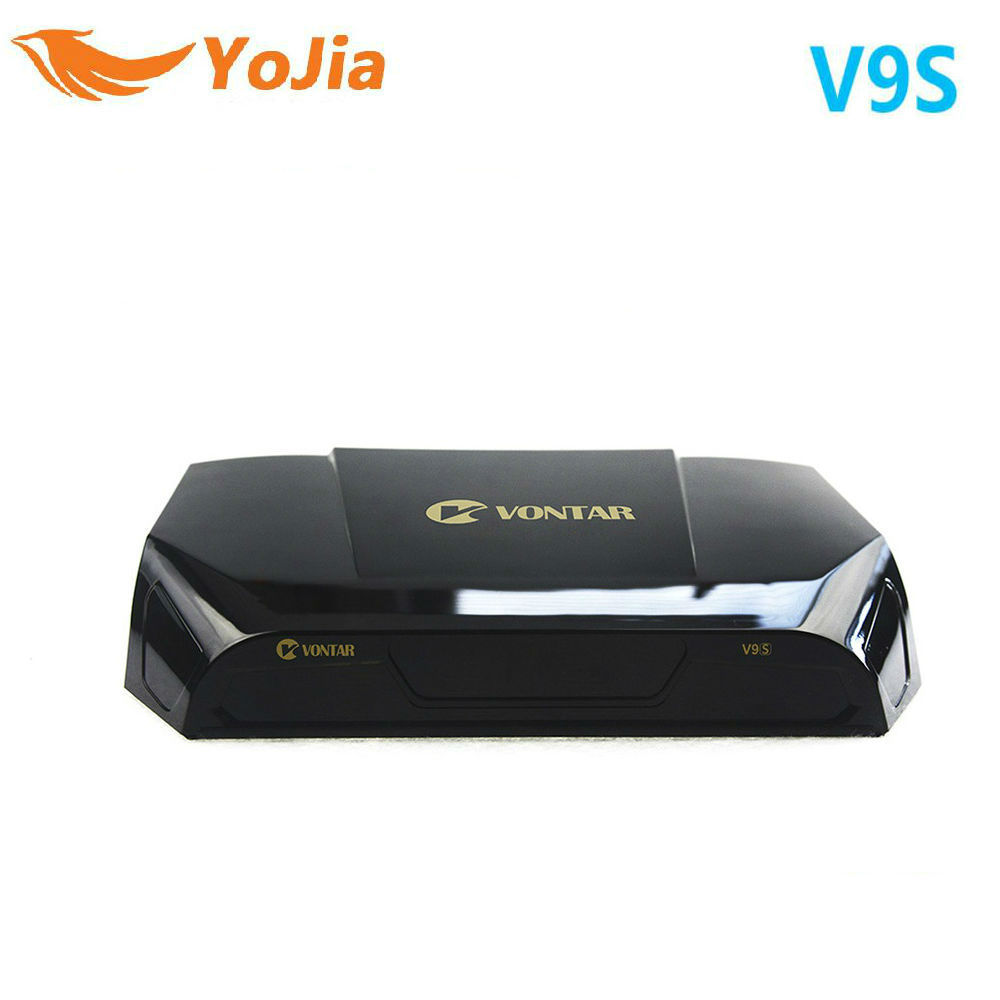 Yojia DVB-S2 HD V9S Satellite Récepteur Wifi Construction à L'appui CS M3U Espagne Portugal TP liste OTA Set Top Box PK V9 Super V8 Nova