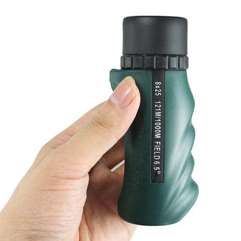 telescopio monocular ambito optics compact bolso mini portatil handheld close up foco profissional sem visao noturna