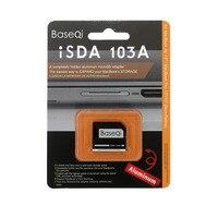 BASEQI Aluminum MicroSD Adapter For MacBook Air 13 And MacBook Pro 13 15 Non Retina