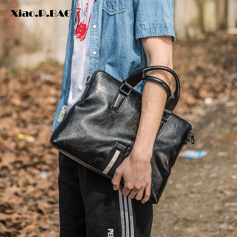 Brand Fashion Good Quality PU Leather Laptop Handbag Men Shoulder Messenger Bags Designer Business High Capacity Crossbody Bag все цены