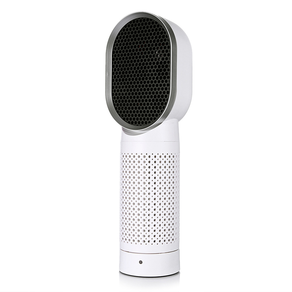 Desktop Oscillating Air Purifier Triple Purification Negative Oxygen Ion Allergen Filter Aromatherapy Function Air Fresher