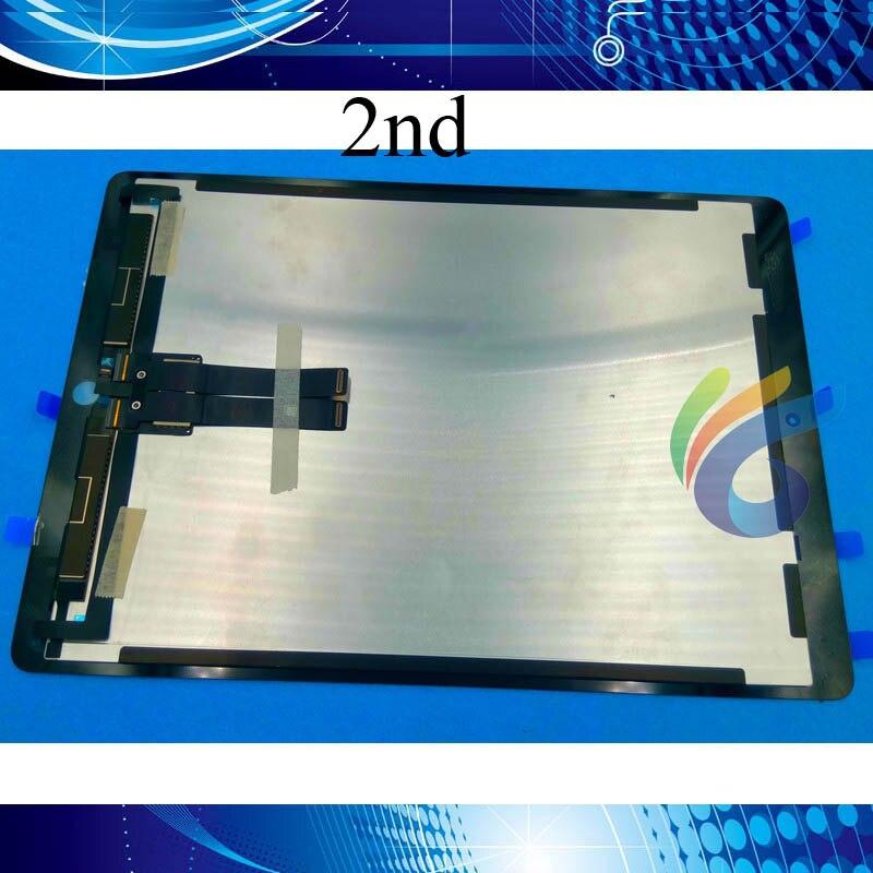 Dobry OEM LCD dla iPad Pro 12.9 2nd generacji ekran dotykowy Digitizer zgromadzenie A1671 A1670 z IC Chip zainstalowany w Ekrany LCD i panele do tabletów od Komputer i biuro na AliExpress - 11.11_Double 11Singles' Day 1