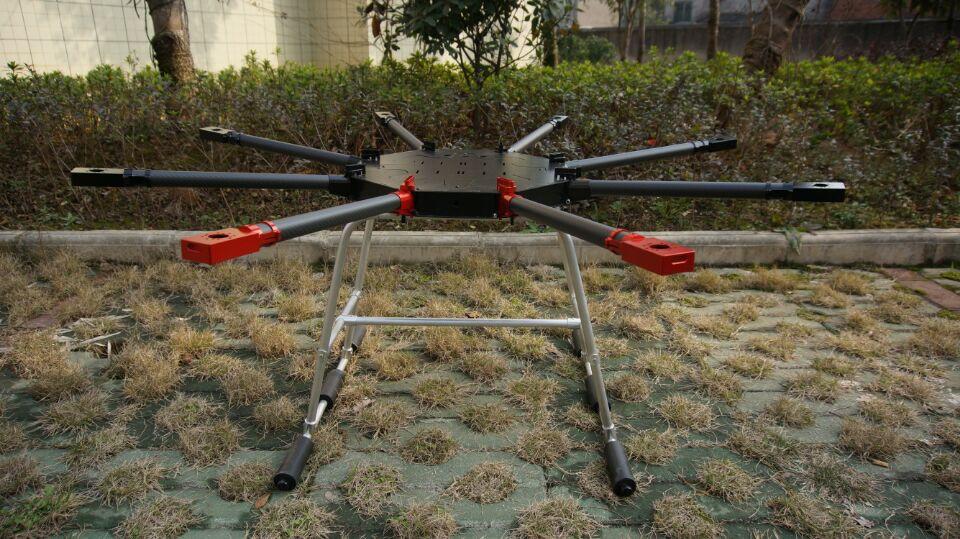 8 axes 5 kg 10L Pulvérisation Agricole sans pilote RC drone vide en fiber de carbone cadre Brume Machine Agricole UAV cadre
