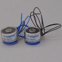 Gangbei-2015 Holding Elektrische Magnet  Hebe 2 5 KG 25N Solenoid-elektromagneten 24VDC 12VDC