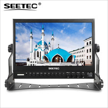 P133-9HSD 13.3 Inch Broadcast Monitor with 3G-SDI HDMI AV YPbPr IPS Seetec Professional 13.3inch Director Desktop LCD Monitors(China (Mainland))