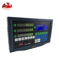 HXX Complete DRO kit Mill Lathe 3 axis DRO digital readout display and 3pcs high accuracy optical linear glass scale