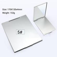 10 шт складное ультратонкое косметическое зеркало 5 размеров складное зеркало для макияжа прямоугольное складное декоративное зеркало для макияжа