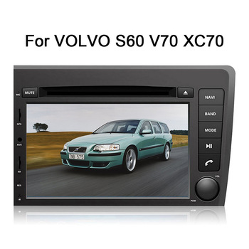 2 din Android 9.0 Car DVD Player GPS Navigation for Volvo S60 V70 XC70 2000-2004 Multimedia Car Stereo Auto Headunit Video