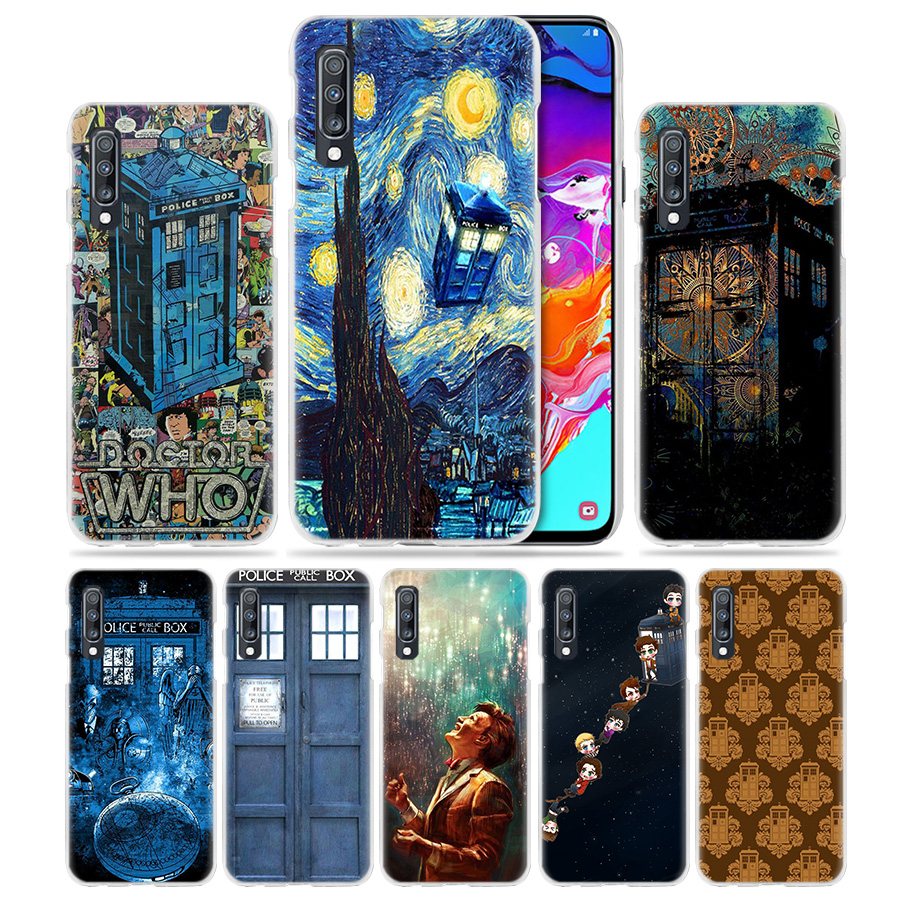 Cellphones & Telecommunications Cheap Price Box Doctor Who Case For Samsung Galaxy A50 A70 A20e A40 A30 A20 A10 A8 A6 Plus A9 A7 2018 Clear Hard Pc Phone Cover Van Gogh Hot Strengthening Waist And Sinews