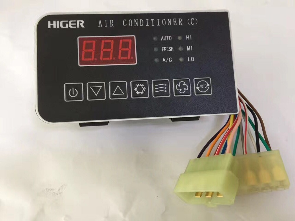 Free shipping Bus Parts Air Conditioner 24V Higer bus B17