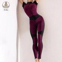 New One piece Yoga Set Professional Yoga Clothes Long Sport Clothing Workout Wear Sport Legging Slim Fit Yoga Pants Gym Jumpsuit