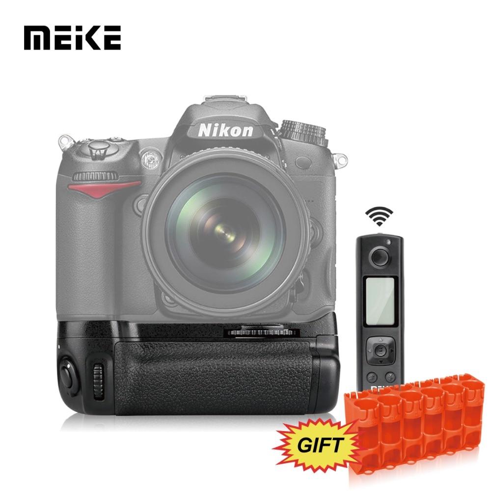 Nikkei D5500을위한 Meike MK-D5500 Pro 2.4G 무선 리모트 컨트롤 배터리 그립 배터리 홀더