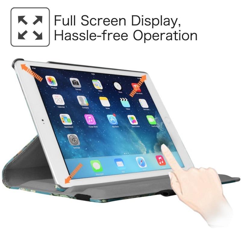 360 graders roterande stativfodral till iPad Mini 1 2 3 Väska PU - Surfplatta tillbehör - Foto 4