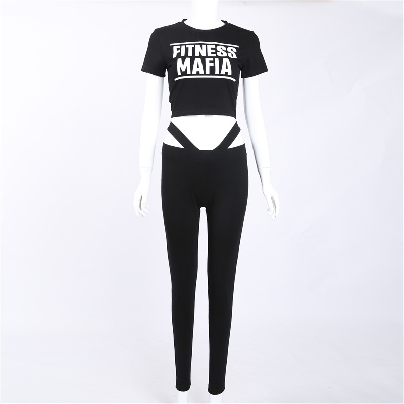 2017 new Women Tracksuits Sport Suits Women Gym Fitness Jogging Suit Clothing 2 Piece Set yoga wear (8)