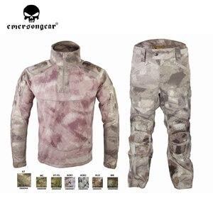 Image 5 - Emersongear HERREN Camouflage anzug Tactical Sportwear Militär Kampf Trainingsanzug Herbst & Winter Lange Ärmeln Herren Sport Anzüge