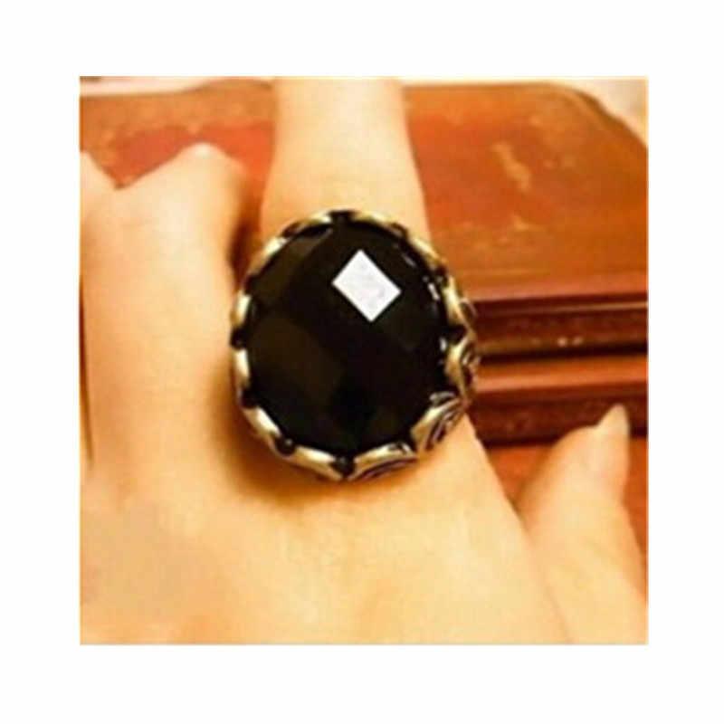 2016 neue Mode ring Heißer beliebte Geschnitzt Schwarz Vintage Persönlichkeit Marke Ring kühlen geschenk für frauen männer nj44