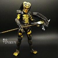 7 Inch Alien VS Predator Jagged Warrior Warfare Dog Alone Wolf AVP Moving Dolls Model Birthday Gift Action Figure