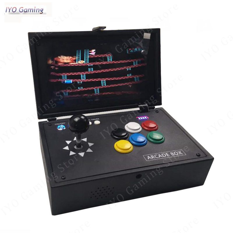 Raspberry Pi 3B+ 10 Inch LCD Video Game Console Includes