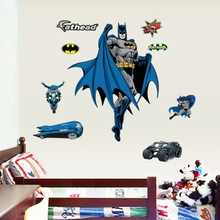 Batman Fathead Wall Decal Removable Sticker Kids Nursery Baby Decor  Art(China)