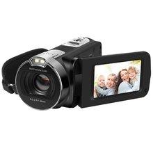 ORDRO 1080P Camcorder HDV-312P 2.7 inch LCD HD Digital Video Camera 16X Zoom High-end CMOS Sensor Camcorder DV