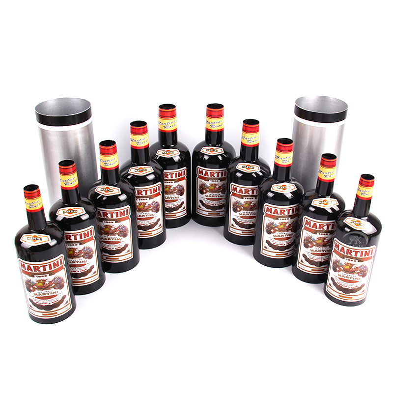 Multiplying Bottles 10 Bottles Black ( poured Liquid) Magic Trick stage magic props close up mentalism illusion classic toy81177 got it covered umbrella magic magic trick magic device stage gimmick illusion card magic