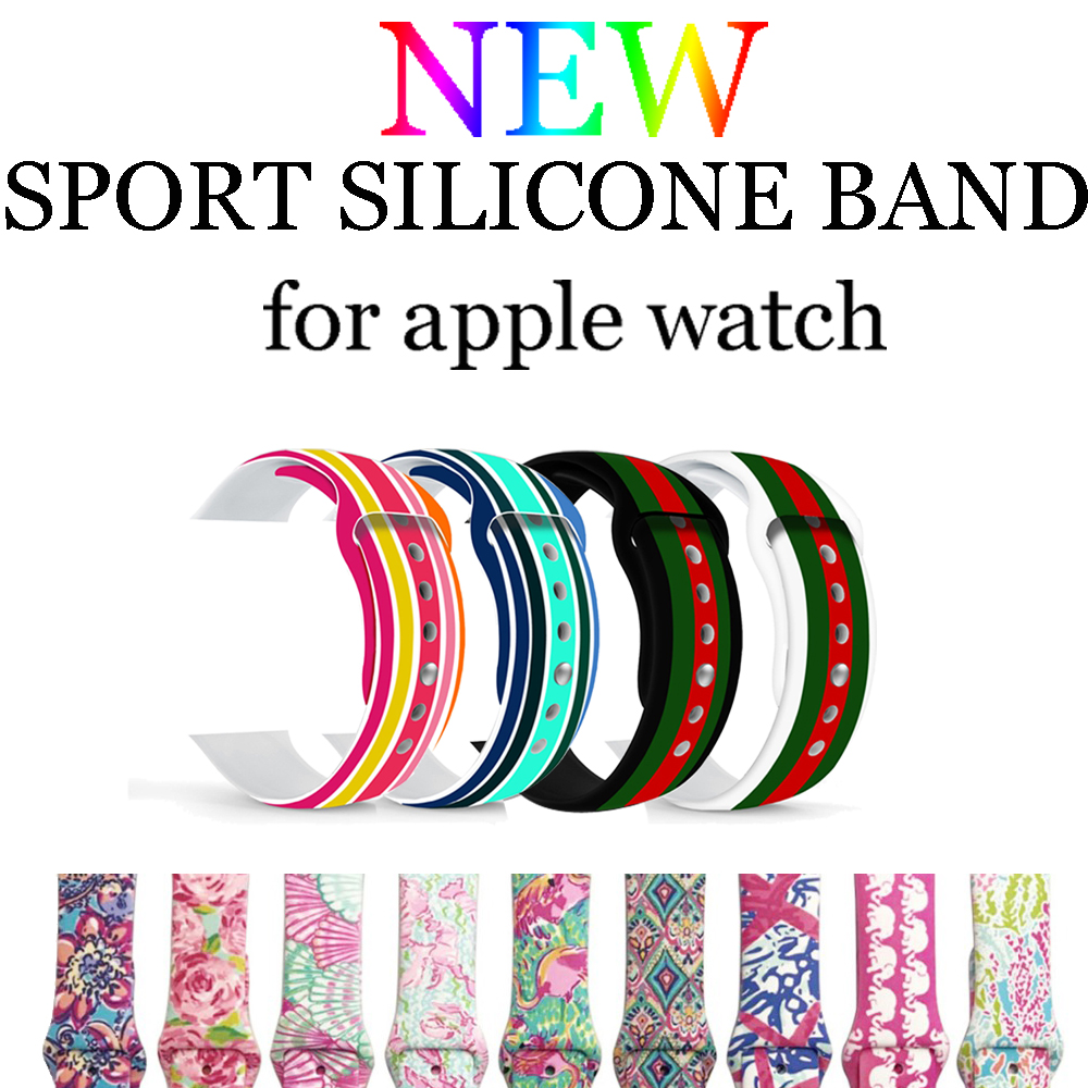 NEW sport strap band for Apple watch 3/2/1 42mm/38mm silicone watchband for Iwatch Watch accessories bracelet wrist belt bumvor sport silicone band strap for apple watch 42mm 38mm bracelet wrist band watch watchband for iwatch 3 2 1 box