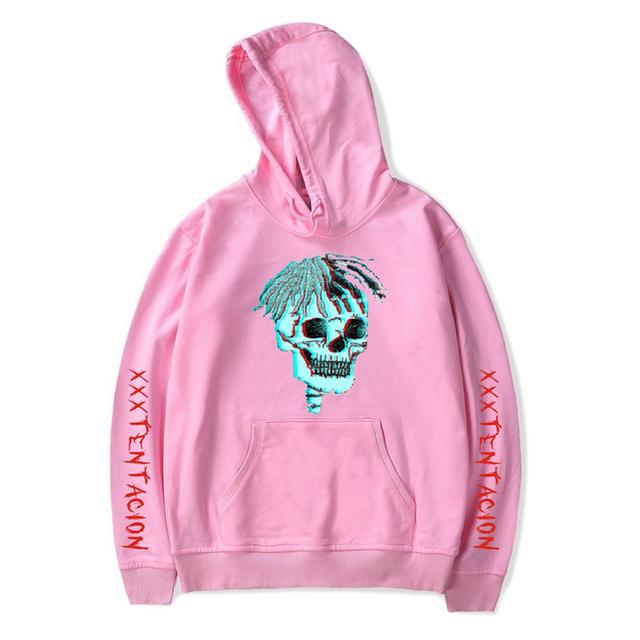 revenge kill hoodies hot rapper skull print xxxtentacion hoodie hip hop men women hoody hooded sweatshirt plus size streetwear