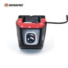 Topsource Автомобильный цифровой видеорегистратор с usb-разъемом Камера вождения регистраторы USB тире камера 720 P регистраторы для Android 6,0 7,1 4,4 DVD gps плеер ночное видение