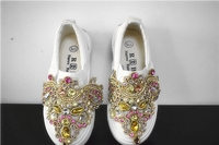 2018 Rhinestone Children S Canvas Shoes Girls Shoes Baby Princess Shoes Spring New Cartoon Kids Shoes