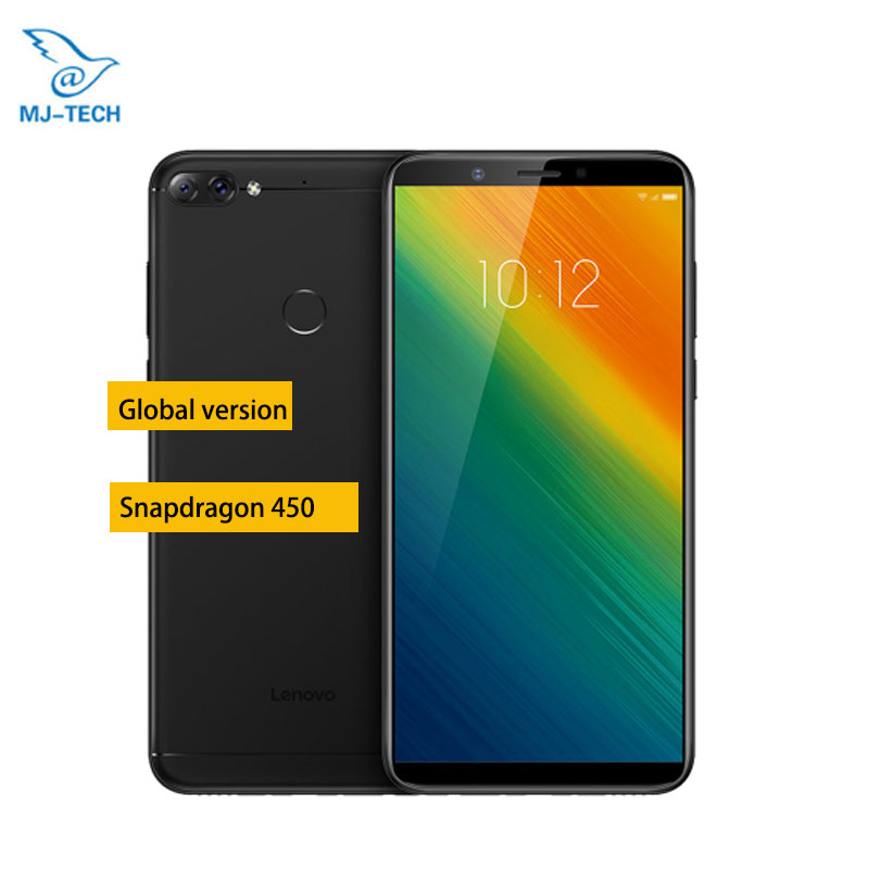 Global Version Lenovo K9 Note 4GB 64GB 3760mAh 6 inch Face ID Mobile Phone Android 8