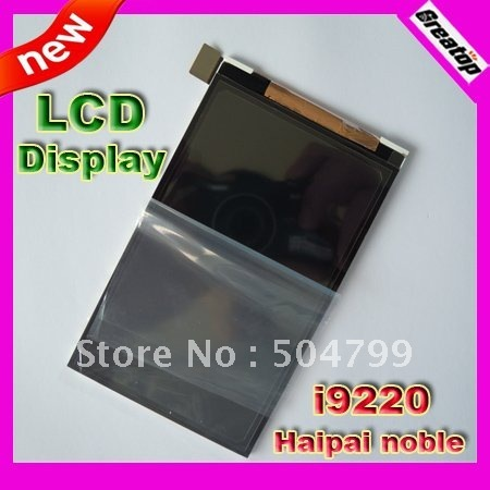 """HK post Free shipping Factory Original LCDs display screen replacement for haipai noble i9220 5.3"""" mtk6575 smart phone"""