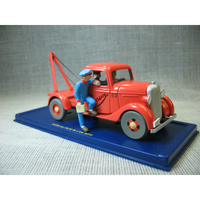 1:43 The Adventures of Tintin Car Model Action Toy Figures Model Best Gift For Kids