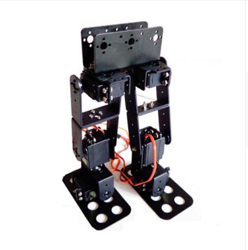 6 DOF Biped Walking Humanoid Robot Parts F17325 new 17 degrees of freedom humanoid robot saibov6 teaching and research biped robot platform model no electronic control system