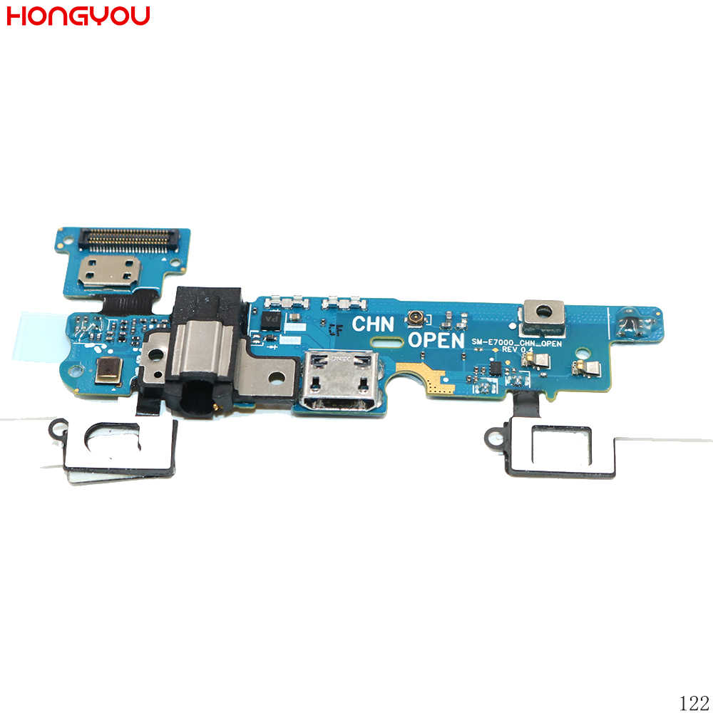 USB Charging Port Connector Charge Dock Socket Audio Earphone Jack Flex Cable For Samsung Galaxy E700F E7000 E700H E7009 E700M