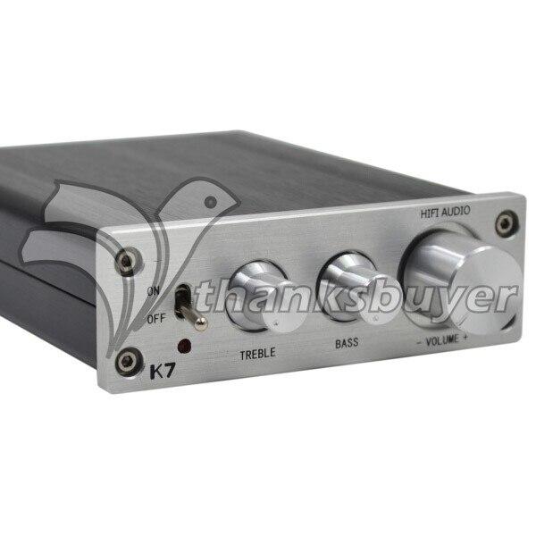 где купить ZL K7 HIFI TDA7498 T-AMP Analog Signal Digital Terble Bass Adjustment Amplifier High Power 2X70W w/ Power Supply по лучшей цене