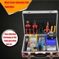 17 unids/set de fibra óptica FTTH Tool Kit con FC-6S Fiber Cleaver y medidor de potencia óptica 10 Mw localizador Visual de fallos
