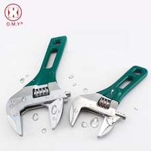цена на 1pcs Short Handle Adjustable Spanner Universal Key Nut Wrench Opening Wrench Home Hand Tools Multi Tool 6inch 8inch Top Quality