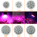 E27 AC85-265V 5730SMD 15W/21W/27W/36W/45W/54W Full Spectrum LED Grow Light For Plants & Hydroponic System Grow/Bloom Lighting