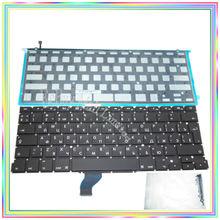 Brand new Russian RU Keyboard with Backlight & keyboard screws for Macbook Retina 13.3″ A1502 2013-15Years