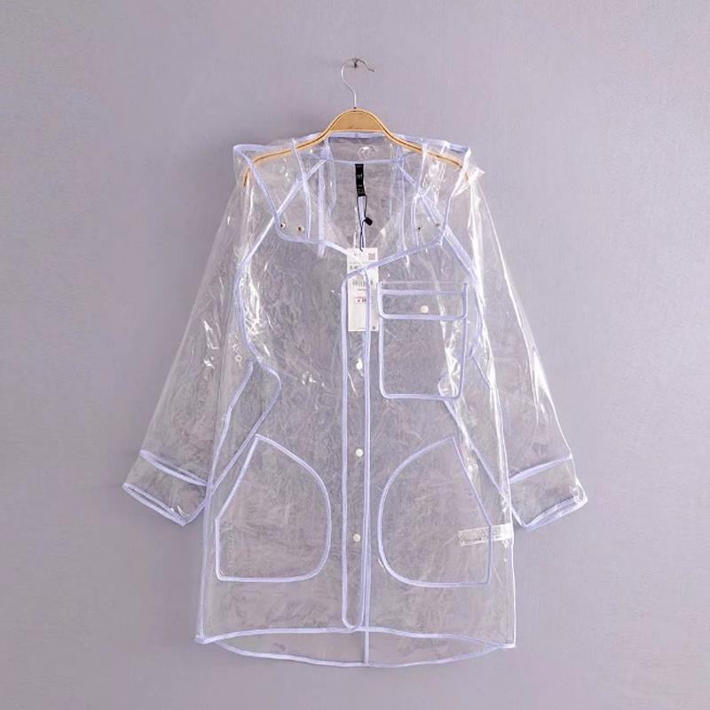 2018 summer jacket windbreaker coat women clothes in rain korean fashion trench coat long sleeve button long coats cape