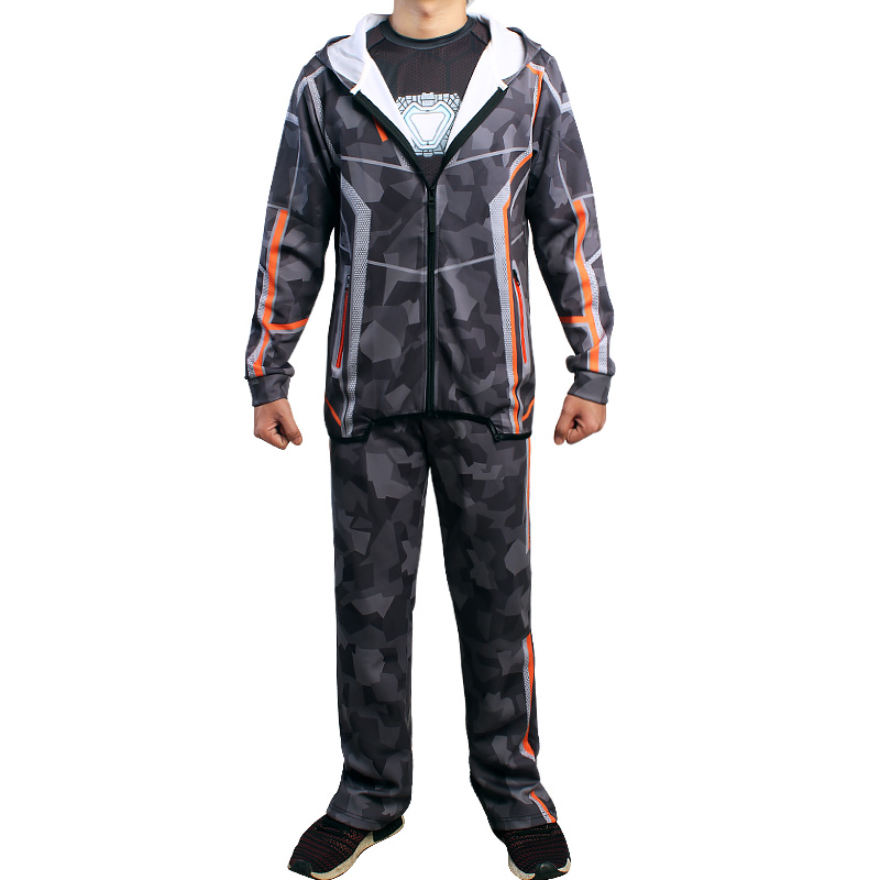 Avengers Infinity War Iron Man Tony Stark Cosplay Pants Casual Camouflage