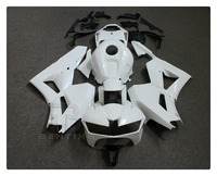 Motorcycle Unpainted White Fairing Body Part KIT For H O N D A CBR600RR CBR 600RR