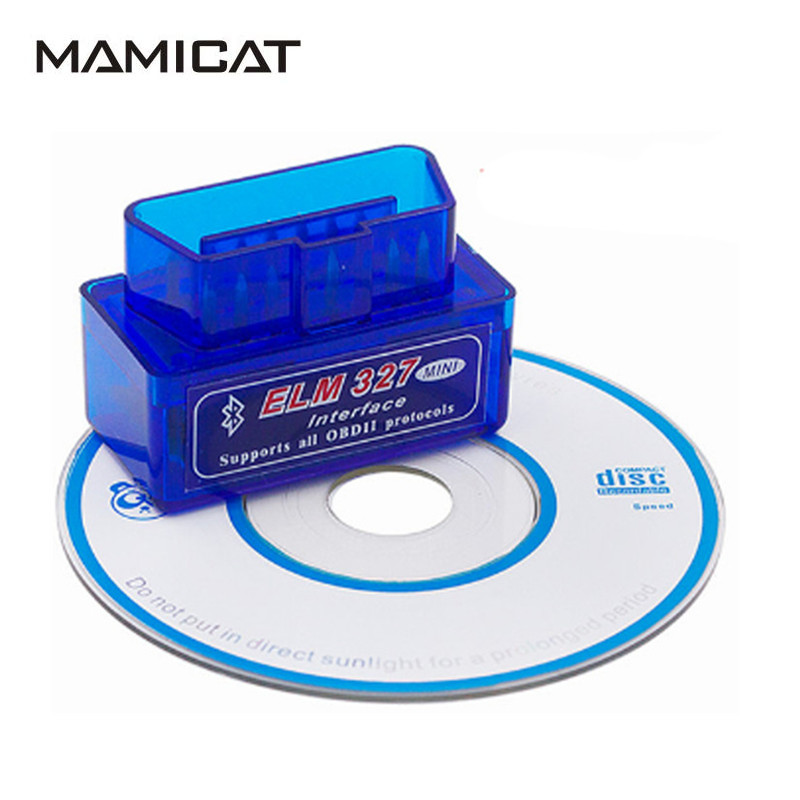 Super ELM327 V2 1 Car Code Reader With Bluetooth OBD2 ELM 327 OBD Interface Auto Diagnostic