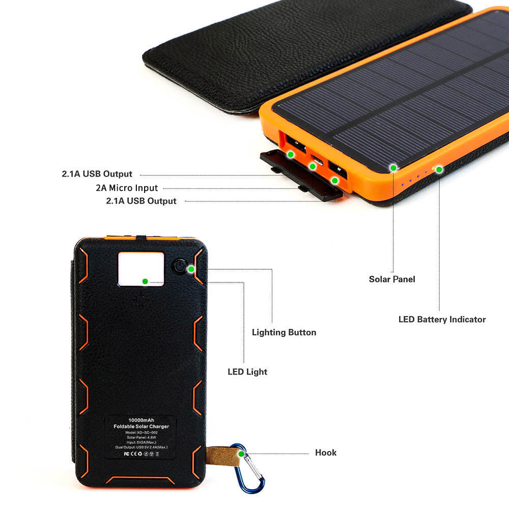 Charger Bank Outdoors Solar