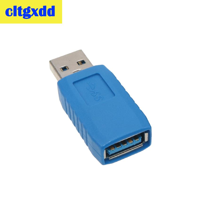 Image 5 - cltgxdd Right Angle USB3.0 AM to AF L Shape Adapter Converter USB 3.0 A Male to A Female 90/180 Degree Plug Down Connector-in Computer Cables & Connectors from Computer & Office