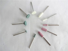 30PCS/3 sets  Dental Lab Gravel Ceramic White Finishing Stone FG Bur Polisher 2.35mm